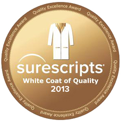 Surescripts White Coat of Quality